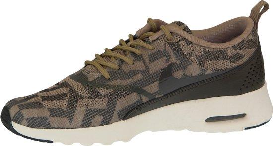Nike Air Max Thea Jacquard Sneakers Dames bruin Maat 37.5