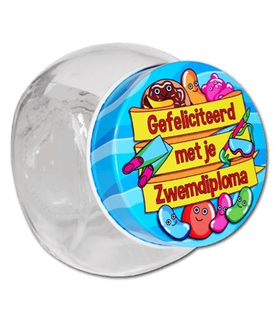 Paperdreams Candy Jars nr.3- zwemdiploma