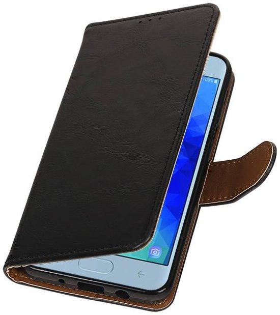 Samsung Galaxy J3 2018 Zwart | Premium bookstyle / book case/ wallet case  | WN™