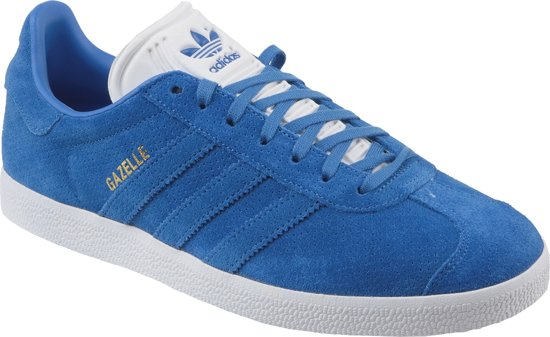 Adidas Gazelle  BZ0028, Mannen, Blauw, Sneakers maat: 42 EU