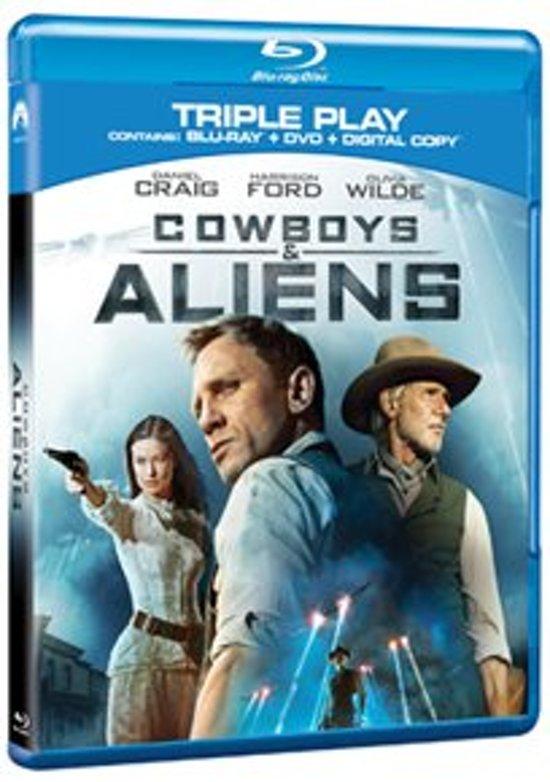 Cover van de film 'Cowboys & Aliens'