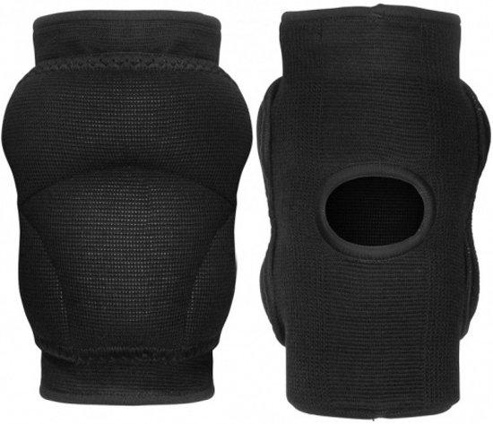 kniebescherming zwart maat S