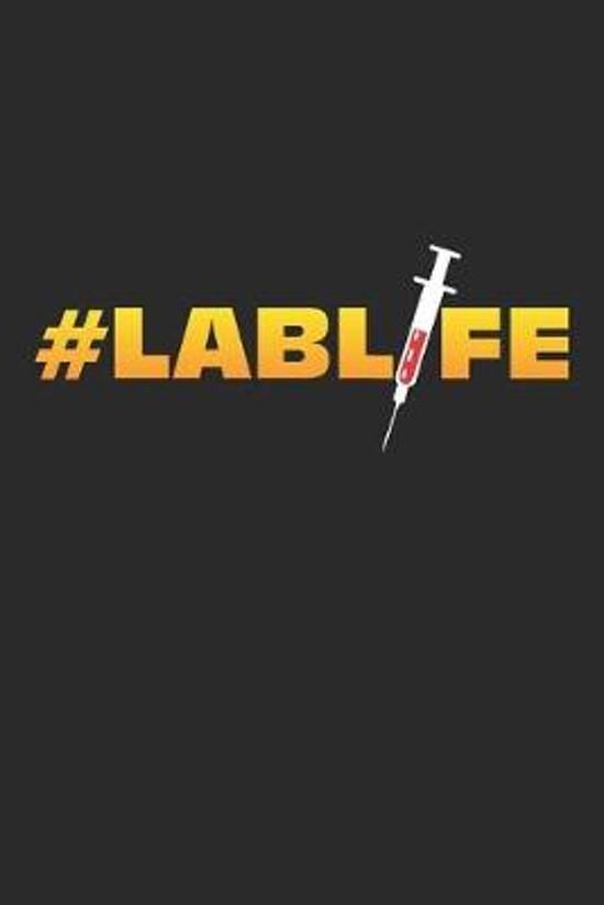 Lab: Lebenslabor Forschung Chemie Notizbuch liniert DIN A5 - 120 Seiten f�r Notizen, Zeichnungen, Formeln - Organizer Schre