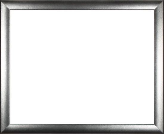Homedecoration Colorado – Fotolijst – Fotomaat – 54 x 58 cm – Aluminium geborsteld