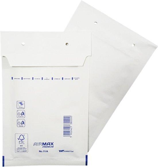 200 stuks - Luchtkussen enveloppen A (Bubbeltjes envelop A/11) 110 x 165 mm