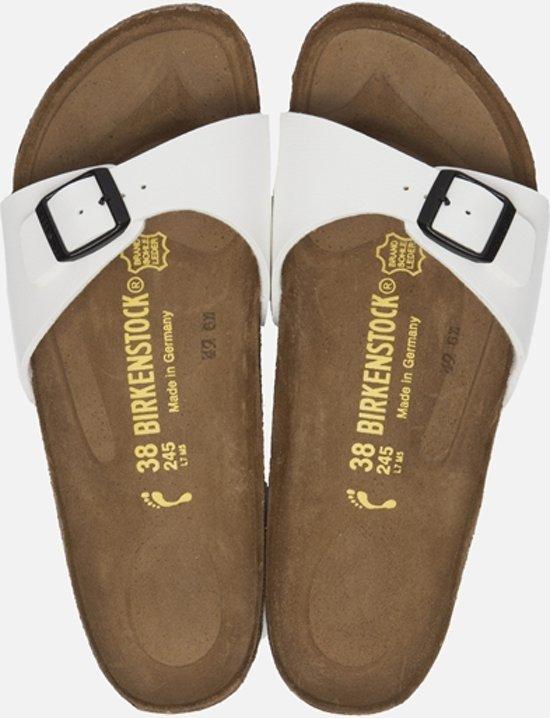 Birkenstock Slippers Madrid wit maat 42