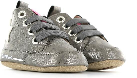 e468741b9b7 bol.com | Shoesme Meisjes Baby Slofjes - Old Silver - Maat 19