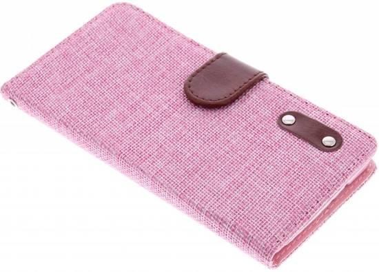 Aspect Lin Rose Cas Booktype Tpu Pour Samsung Galaxy Alpha 5QbOv