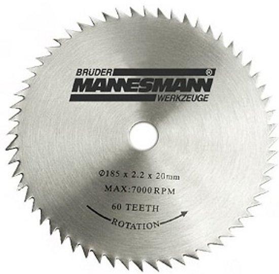Brüder Mannesmann Handcirkelzaag met laser 185 mm 1200 W 12795