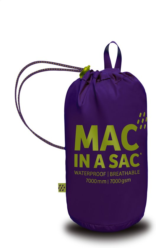 Mac in a Sac Regenjas - Volwassenen - Grape