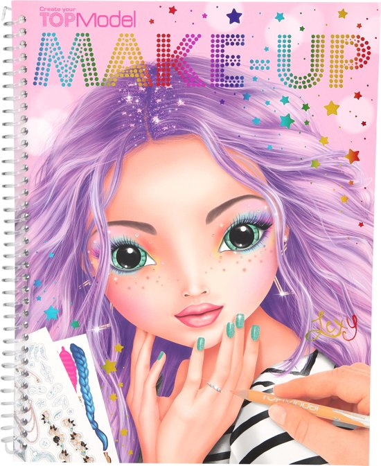 TOPModel Make-Up kleurboek