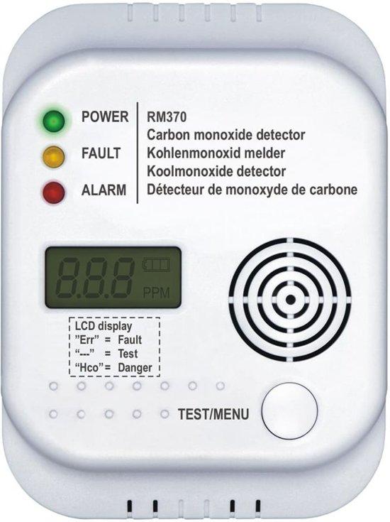 Smartwares RM370 - Koolmonoxidemelder - 7 jarige sensor - Met display