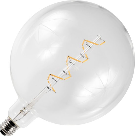 SPL LED Filament BIG Globe Spiraal - 6W / DIMBAAR