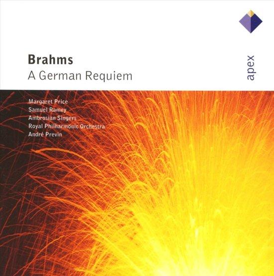 Brahms: A German Requiem / Previn, Price, Ramey, Ambrosian Singers et al