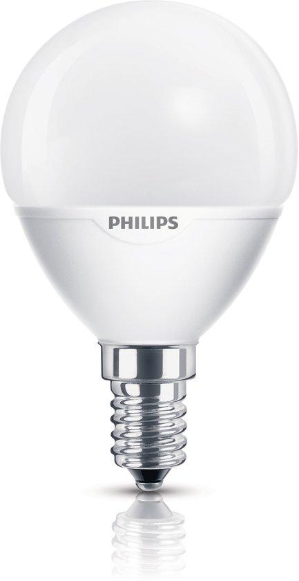Bekend bol.com | Philips Spaarlamp - Kogel - 5W - E14 Fitting - 1 stuk UL79