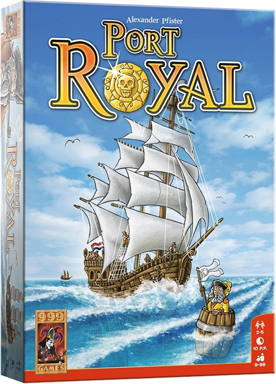 Afbeelding van het spel Port Royal - Bordspel