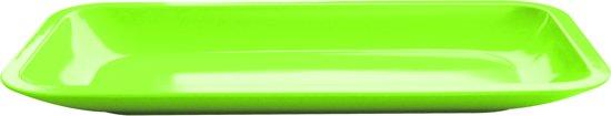 Zak!Designs Seaside - Bord Rechthoekig 31,5 x 15,5 cm - Kiwi Groen