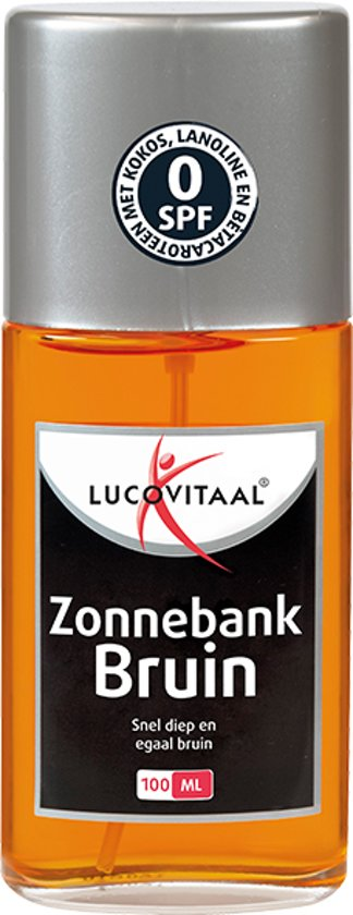 Lucovitaal - Zonnebankbruin - 100 milliliter - Bruiningsversneller
