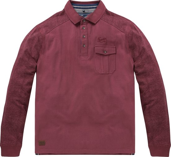 Twinlife Men - Sweat Polo - Lange Mouw