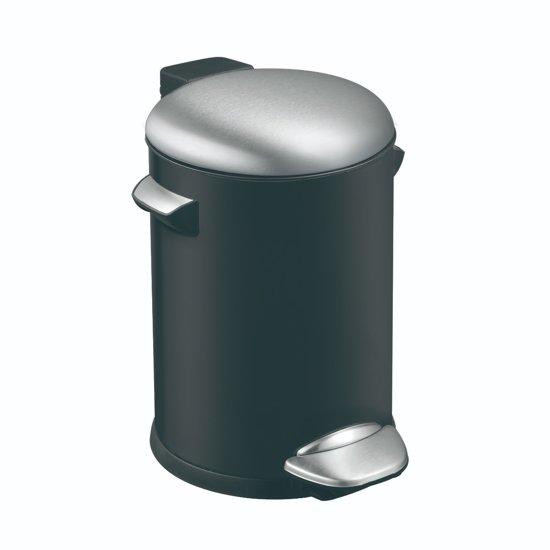 Eko Pedaalemmer 3 Liter.Eko Belle Deluxe Pedaalemmer 3 Liter Zwart