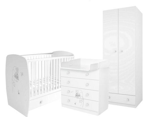 Complete Babykamer 3 Delig.Bol Com Polini Complete Babykamer 3 Delig