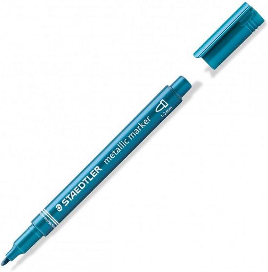 Staedtler Metallic Marker Blauw