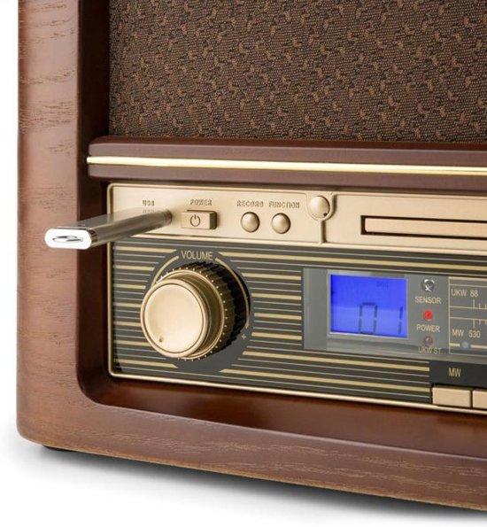 Auna Belle Epoque 1906 Retro FM Radio CD Speler