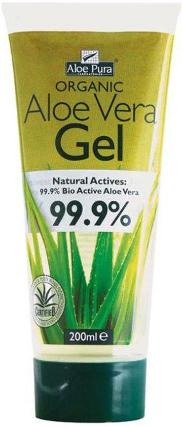 Cruydhof Aloe Pura Organic Aloe Vera Gel - 200 ml - Bodygel