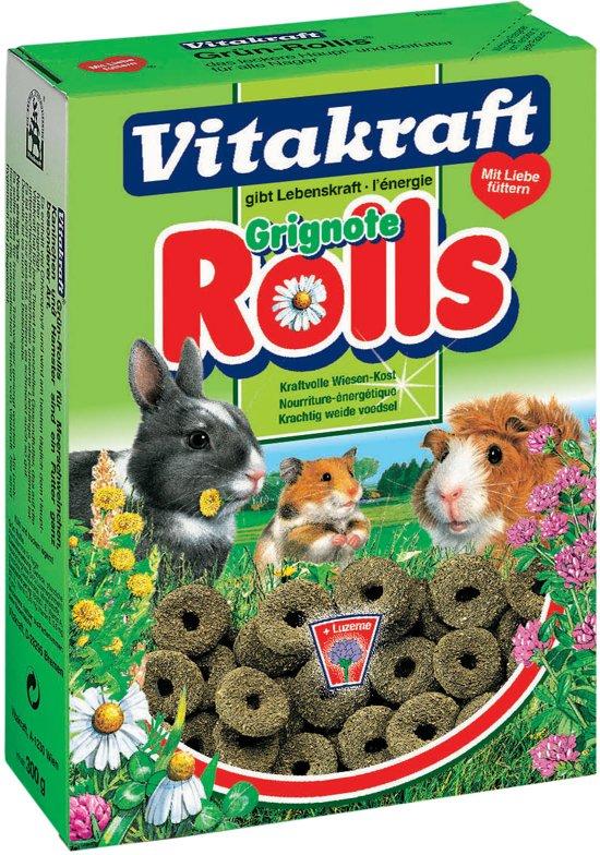 Vitakraft - Groen Rollies - Konijnensnack - 300 gr