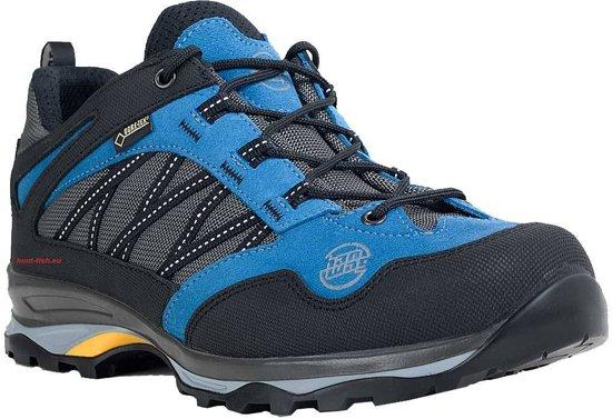 d4b2534c52b Hanwag Belorado trekkingschoenen Heren Low, GTX blauw/zwart Maat 43