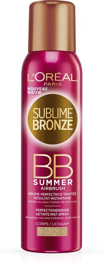 L'Oréal Paris Sublime Sun BB Summer Airbrush - Perfectionerende Getinte Mist Spray - 150ml - Zelfbruiner Lichaam