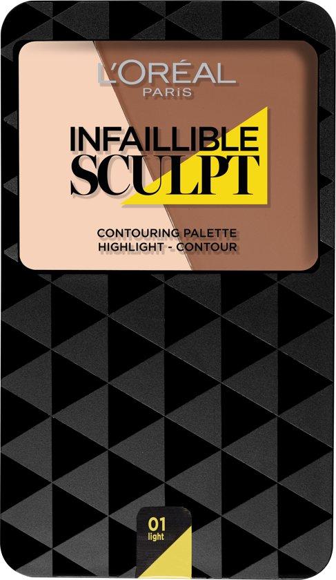 L'Oréal Paris Infallible Sculpt Contouring Palette - 100 Light