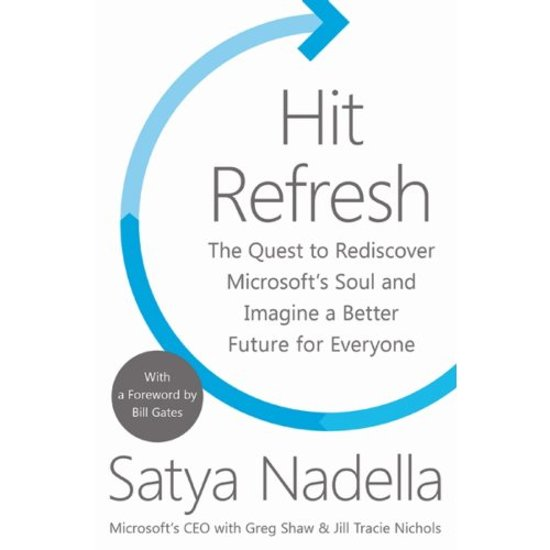 Boek cover Hit Refresh van Satya Nadella (Paperback)
