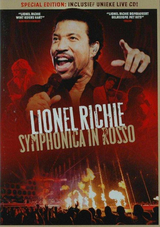 CD cover van Symphonica In Rosso 2008 van Lionel Richie