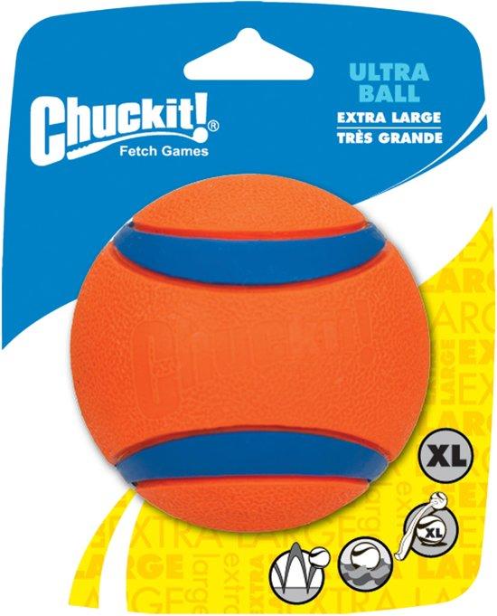 Chuckit! - Ultra Ball - Oranje en blauw - XL