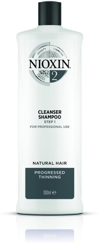 Nioxin System 2 Cleanser Shampoo Step 1 1000 ml