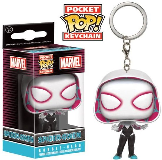 Pocket pop keychain: Marvel-Spider gwen