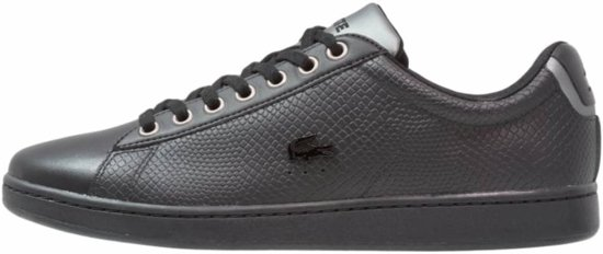 Chaussures De Sport Lacoste Noir Carnaby Evo Hommes ktHP3