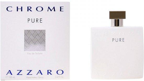 Azzaro - Men's Perfume Chrome Pure Azzaro EDT - Mannen - 100