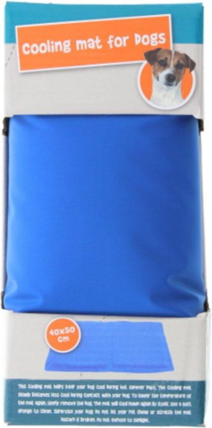 Koel mat voor honden - Cooling mat - 40 x 50 cm - Blauw