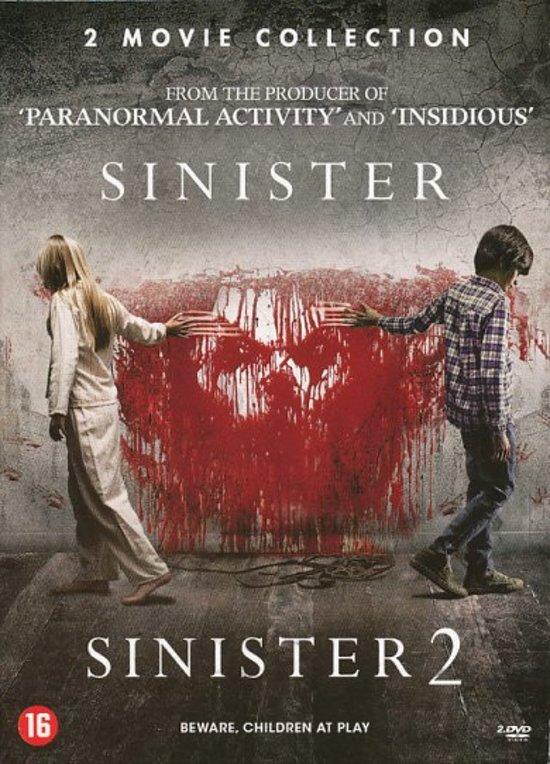 DVD cover van Sinister 1 & 2
