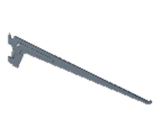 Schadébo Drager Element enkel 2-haaks sys 50 staal wit 30cm 10105-00401 (Prijs per 10 stuks)