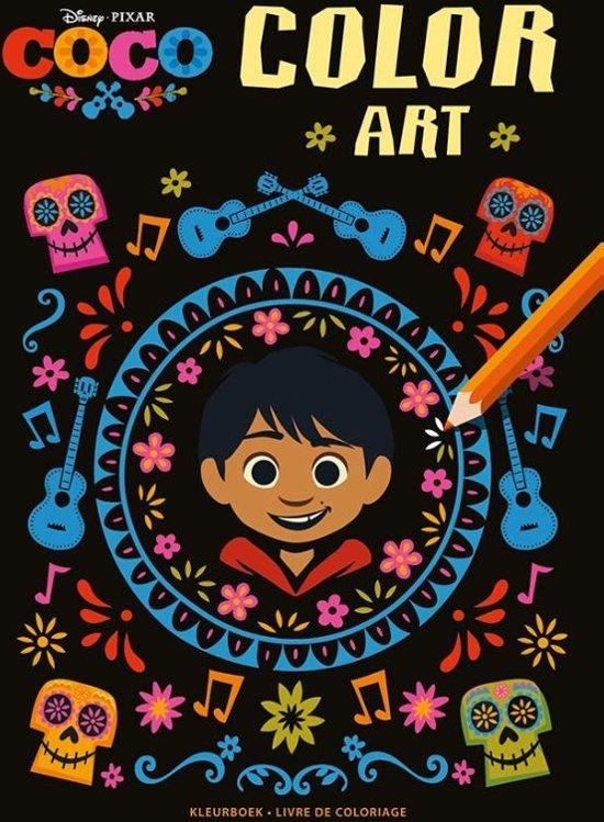 Disney Coco Color Art kleurboek / Disney Coco Color Art livre de coloriage