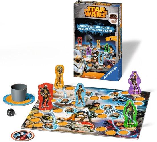 Thumbnail van een extra afbeelding van het spel Star Wars: adventure game - Bordspel