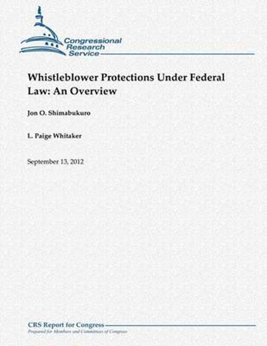 Whistleblower Protections Under Federal Law