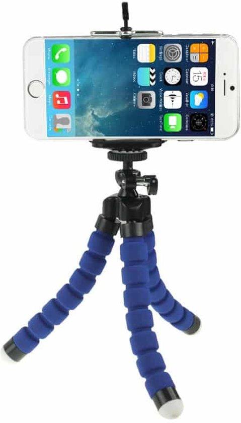 Flexible Octopus Bubble Tripod houder Stand Mount voor mobiele telefoon (Iphone 6s / 7 Samsung S8 / S7 / S6 ) / Digital Camera(zwart) / Action Camera