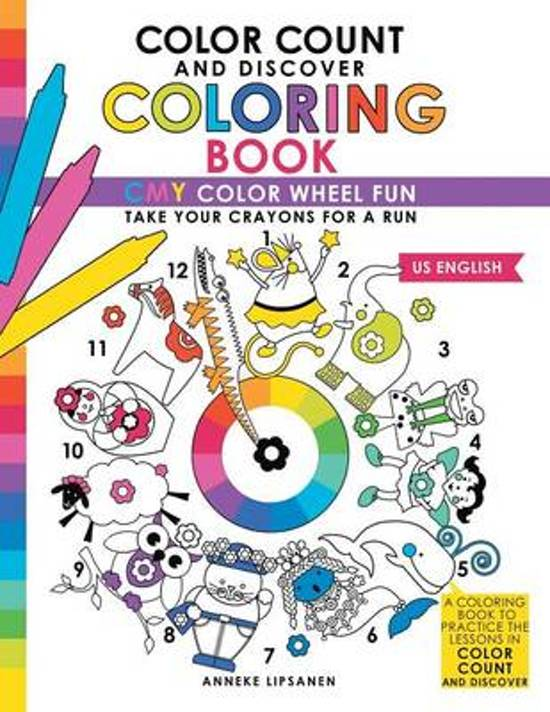 bol.com | Color Count and Discover Coloring Book, Anneke Lipsanen ...