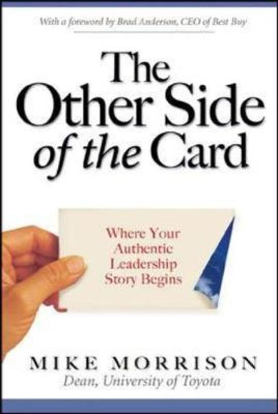 The Other Side of the Card