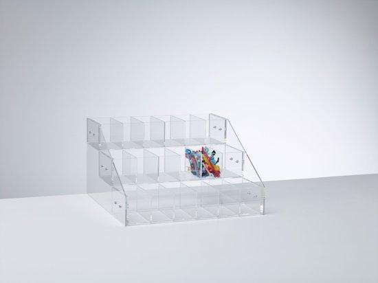 DISPLAYZ  - Vitrinekast - Transparant - Plexiglas