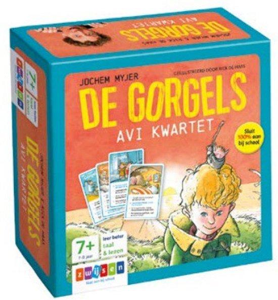 Boekomslag voor De Gorgels - De Gorgels AVI kwartet